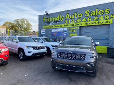 2017 Jeep Grand Cherokee for sale at Friendly Auto Sales in Detroit MI