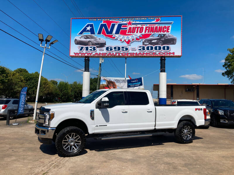 2018 Ford F-250 Super Duty for sale at ANF AUTO FINANCE in Houston TX