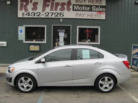 2015 Chevrolet Sonic for sale at R's First Motor Sales Inc in Cambridge OH
