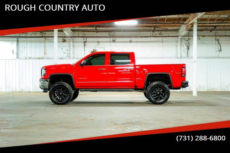 2017 GMC Sierra 1500 for sale at ROUGH COUNTRY AUTO in Dyersburg TN