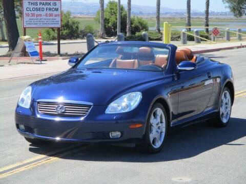 2005 Lexus SC 430 for sale at Convoy Motors LLC in National City CA