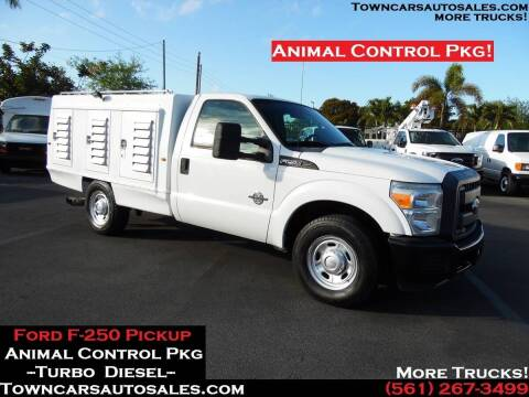 2012 Ford F-250 for sale at Town Cars Auto Sales in West Palm Beach FL