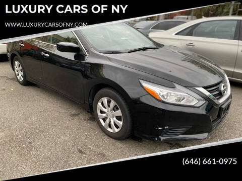 2017 Nissan Altima for sale at LUXURY CARS OF NY in Queens NY