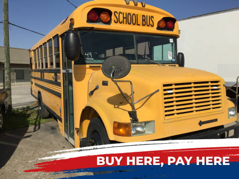 2003 IC Bus FBC Series for sale at BSA Used Cars in Pasadena TX