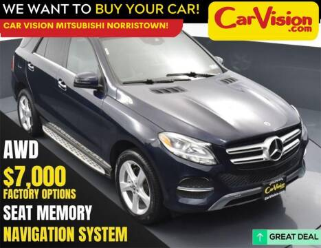 2018 Mercedes-Benz GLE for sale at Car Vision Mitsubishi Norristown in Norristown PA