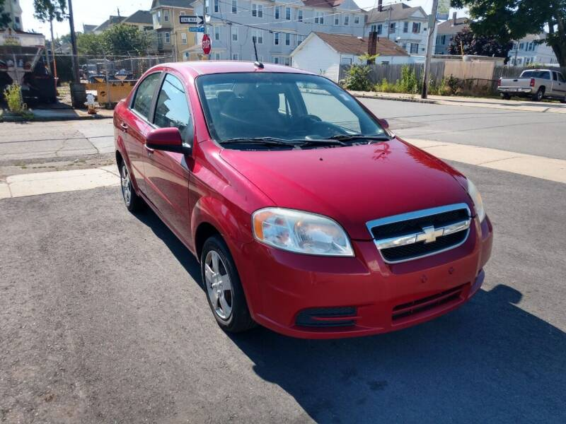 2010 Chevrolet Aveo for sale at A J Auto Sales in Fall River MA