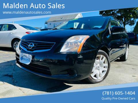 2012 Nissan Sentra for sale at Malden Auto Sales in Malden MA