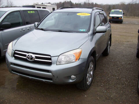 2007 Toyota RAV4 for sale at Summit Auto Inc in Waterford PA