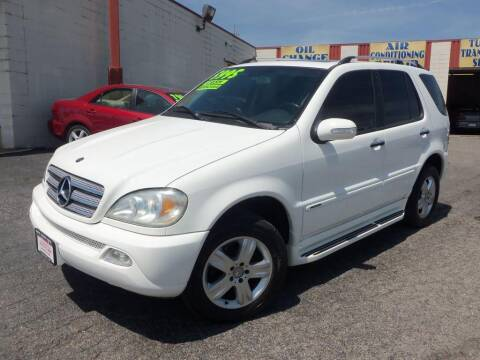 2005 Mercedes-Benz M-Class for sale at FIRST CHOICE AUTO Inc in Middletown OH
