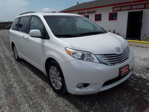 2013 Toyota Sienna for sale at Sarpy County Motors in Springfield NE