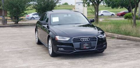 2014 Audi A4 for sale at America's Auto Financial in Houston TX