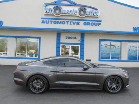 2015 Ford Mustang for sale at The Wholesale Outlet in Blackwood NJ
