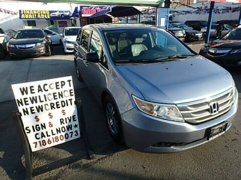 2013 Honda Odyssey for sale at Cedano Auto Mall Inc in Bronx NY