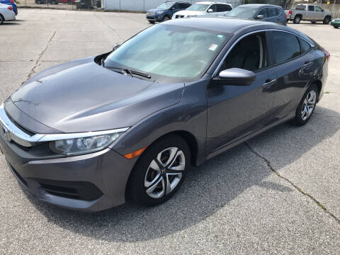 2016 Honda Civic for sale at East Memphis Auto Center in Memphis TN
