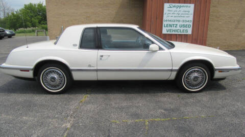 1991 Buick Riviera for sale at LENTZ USED VEHICLES INC in Waldo WI