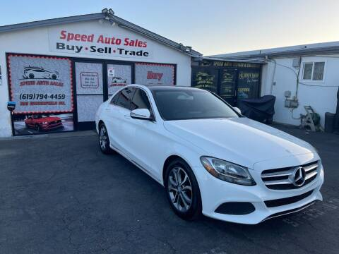 2016 Mercedes-Benz C-Class for sale at Speed Auto Sales in El Cajon CA