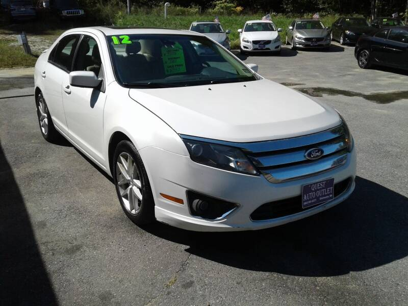2012 Ford Fusion for sale at Quest Auto Outlet in Chichester NH