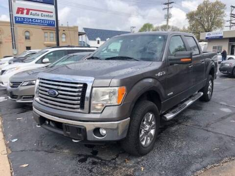 2011 Ford F-150 for sale at RT Auto Center in Quincy IL