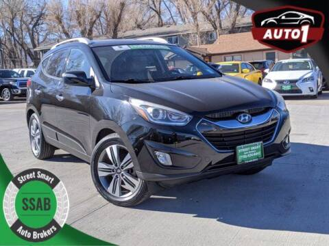 2015 Hyundai Tucson for sale at Street Smart Auto Brokers in Colorado Springs CO