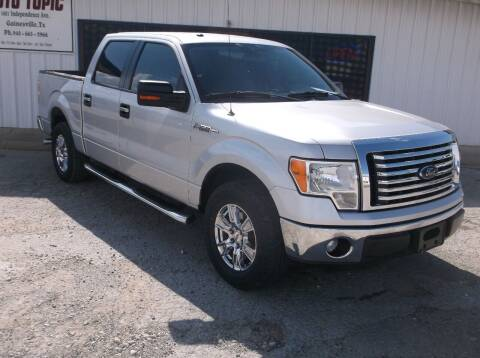 2012 Ford F-150 for sale at AUTO TOPIC in Gainesville TX
