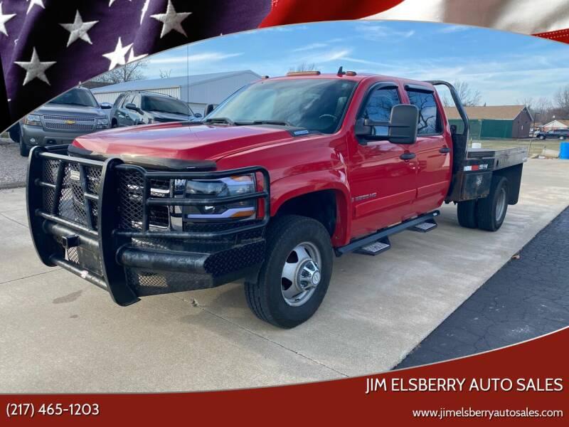 2008 Chevrolet Silverado 3500HD for sale at Jim Elsberry Auto Sales in Paris IL
