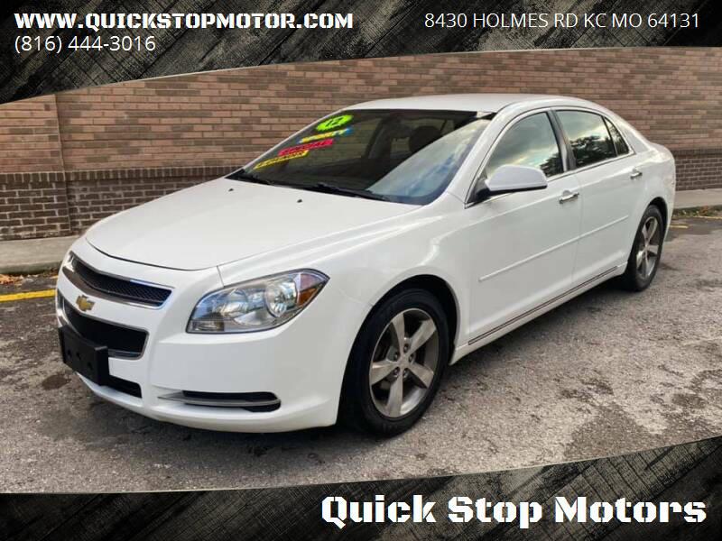 2012 Chevrolet Malibu for sale at Quick Stop Motors in Kansas City MO