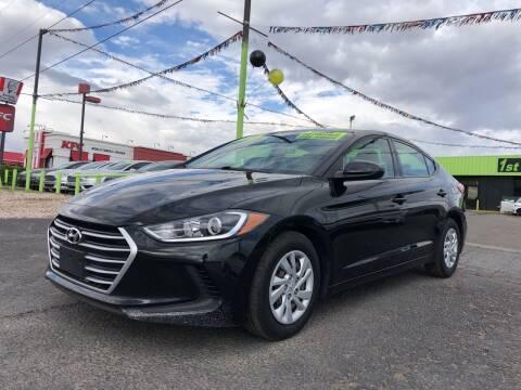 2017 Hyundai Elantra for sale at 1st Quality Motors LLC in Gallup NM