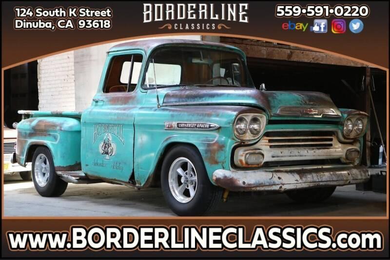 1959 Chevrolet Apache for sale at Borderline Classics in Dinuba CA