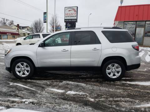 2016 GMC Acadia for sale at Select Auto Group in Wyoming MI