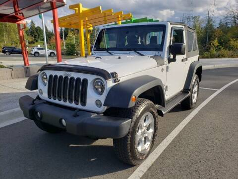 2014 Jeep Wrangler for sale at Painlessautos.com in Bellevue WA