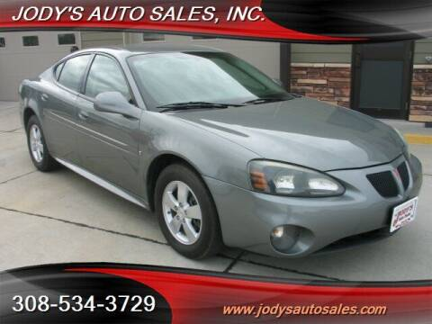 2007 Pontiac Grand Prix for sale at Jody's Auto Sales in North Platte NE