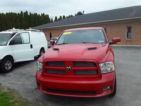 2011 RAM Ram Pickup 1500 for sale at Dun Rite Car Sales in Downingtown PA