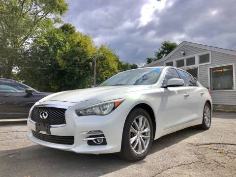 2014 Infiniti Q50 Hybrid for sale at Top Line Import in Haverhill MA