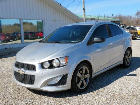 2015 Chevrolet Sonic for sale at Low Cost Cars in Circleville OH
