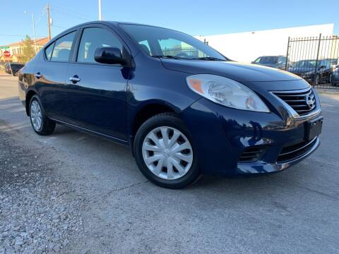 2012 Nissan Versa for sale at Boktor Motors in Las Vegas NV