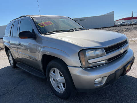 2002 Chevrolet TrailBlazer for sale at Top Line Auto Sales in Idaho Falls ID