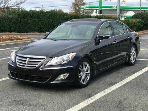2014 Hyundai Genesis for sale at RUSH AUTO SALES in Burlington NC