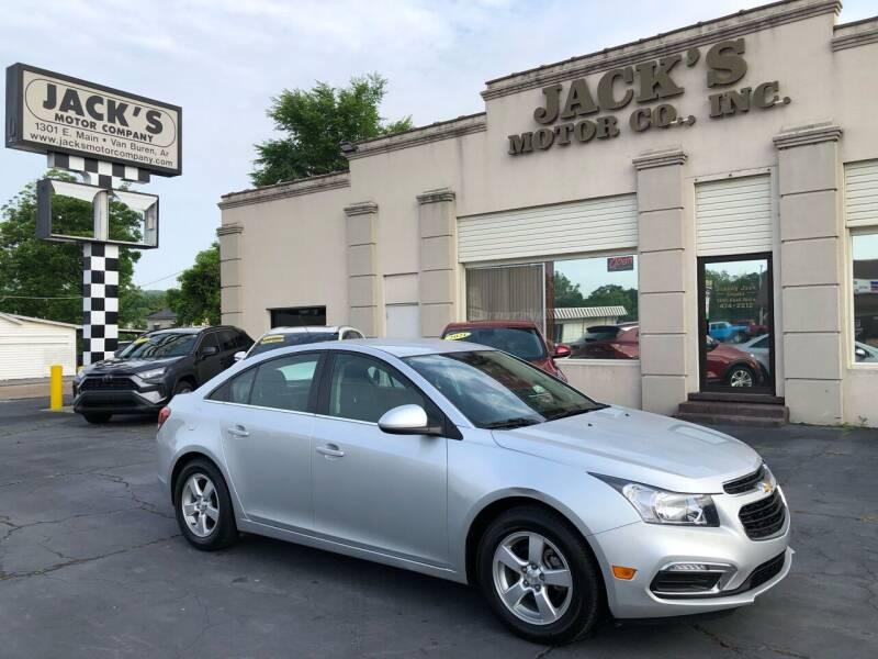 2016 Chevrolet Cruze Limited for sale at JACK'S MOTOR COMPANY in Van Buren AR