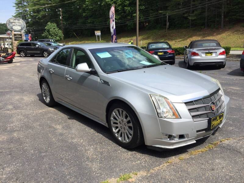2010 Cadillac CTS for sale at Bladecki Auto in Belmont NH