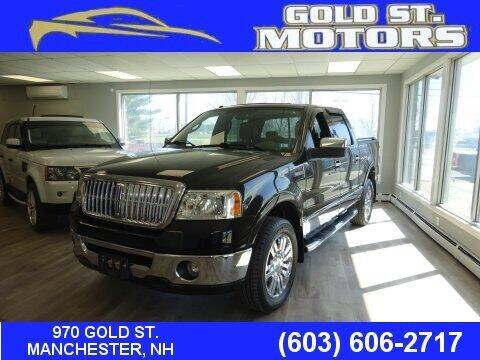2007 Lincoln Mark LT for sale at Gold St. Motors in Manchester NH