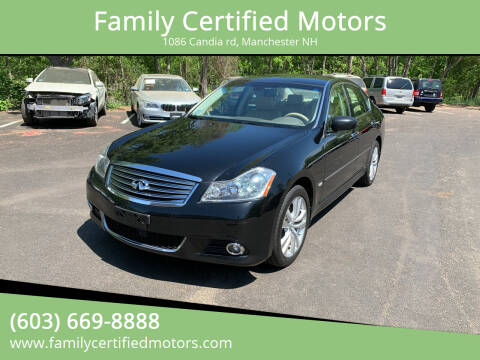 2010 Infiniti M35 for sale at Family Certified Motors in Manchester NH