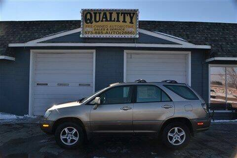 2001 Lexus RX 300 for sale at Quality Pre-Owned Automotive in Cuba MO