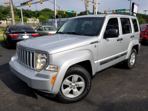 2011 Jeep Liberty for sale at Cedar Auto Group LLC in Akron OH