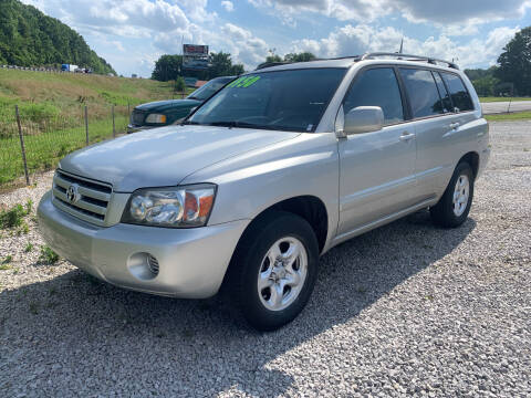 2006 Toyota Highlander for sale at Gary Sears Motors in Somerset KY