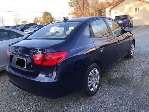 2009 Hyundai Elantra for sale at Twins Motors in Charlotte NC