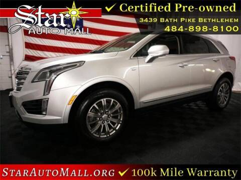 2018 Cadillac XT5 for sale at STAR AUTO MALL 512 in Bethlehem PA