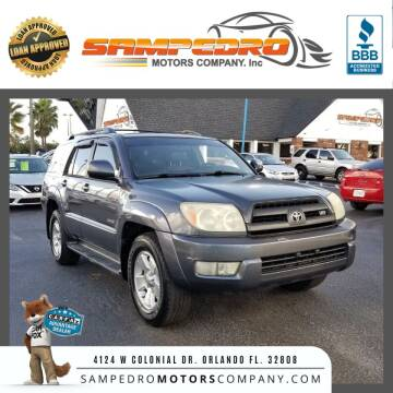 2005 Toyota 4Runner for sale at SAMPEDRO MOTORS COMPANY INC in Orlando FL