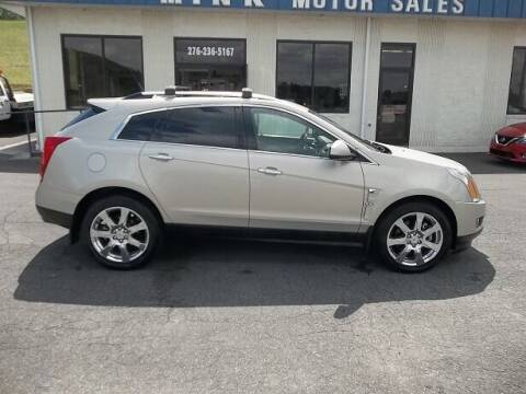 2010 Cadillac SRX for sale at MINK MOTOR SALES INC in Galax VA