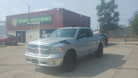 2015 RAM Ram Pickup 1500 for sale at Southwest Sports & Imports in Oklahoma City OK