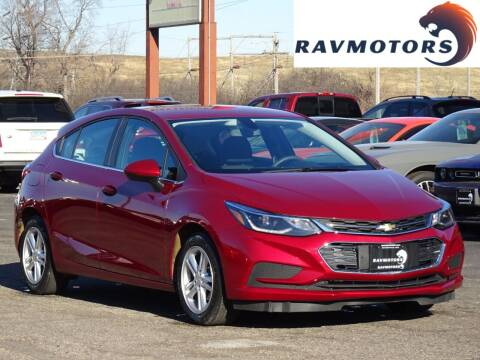 2017 Chevrolet Cruze for sale at RAVMOTORS in Burnsville MN